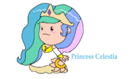 Princess Celestia in EarthBound