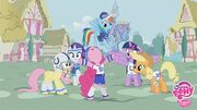 Mane Six Super Bowl Rally
