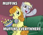 10333 - Carrot Top Derpy Hooves macro meme popcorn