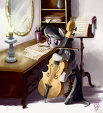 Commission Etude for Cello, Op. 23 by WhiteDiamondsLtd