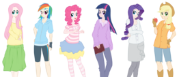 Mane six by kumkrum-d4heihw