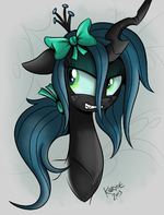 Queen Chrysalis by artist-killryde