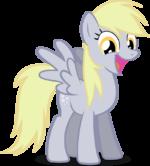 Derpy is a happy pony by noxwyll