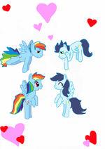 Love has been doubled by rainbowdashfanselin