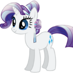 Rarity Crystal Pony