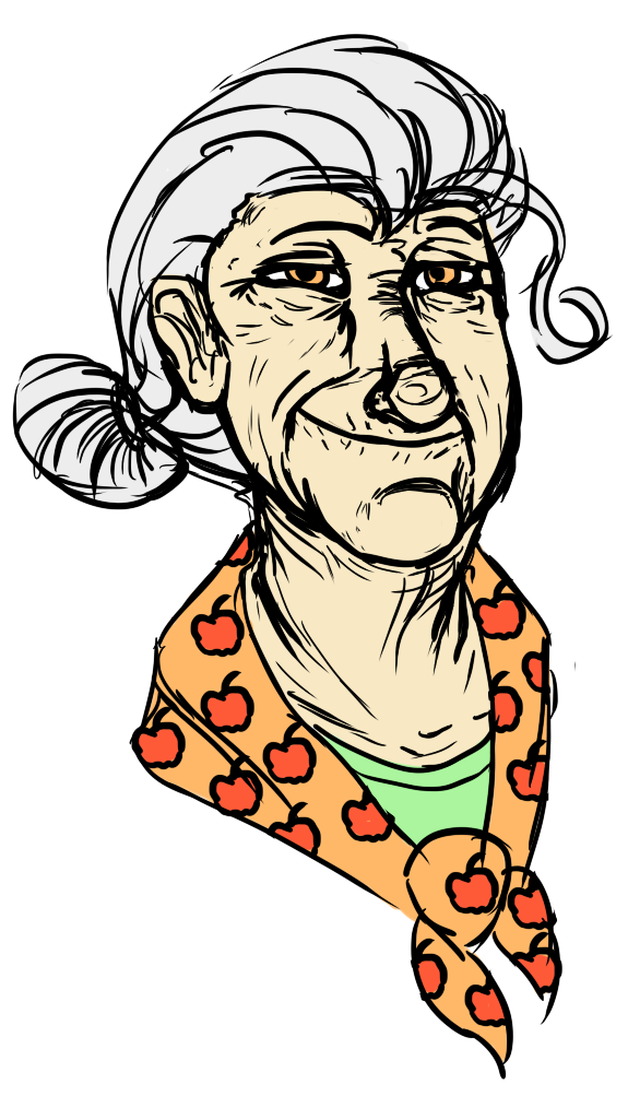 Image Human granny smith by sinsariod3ii5w9png