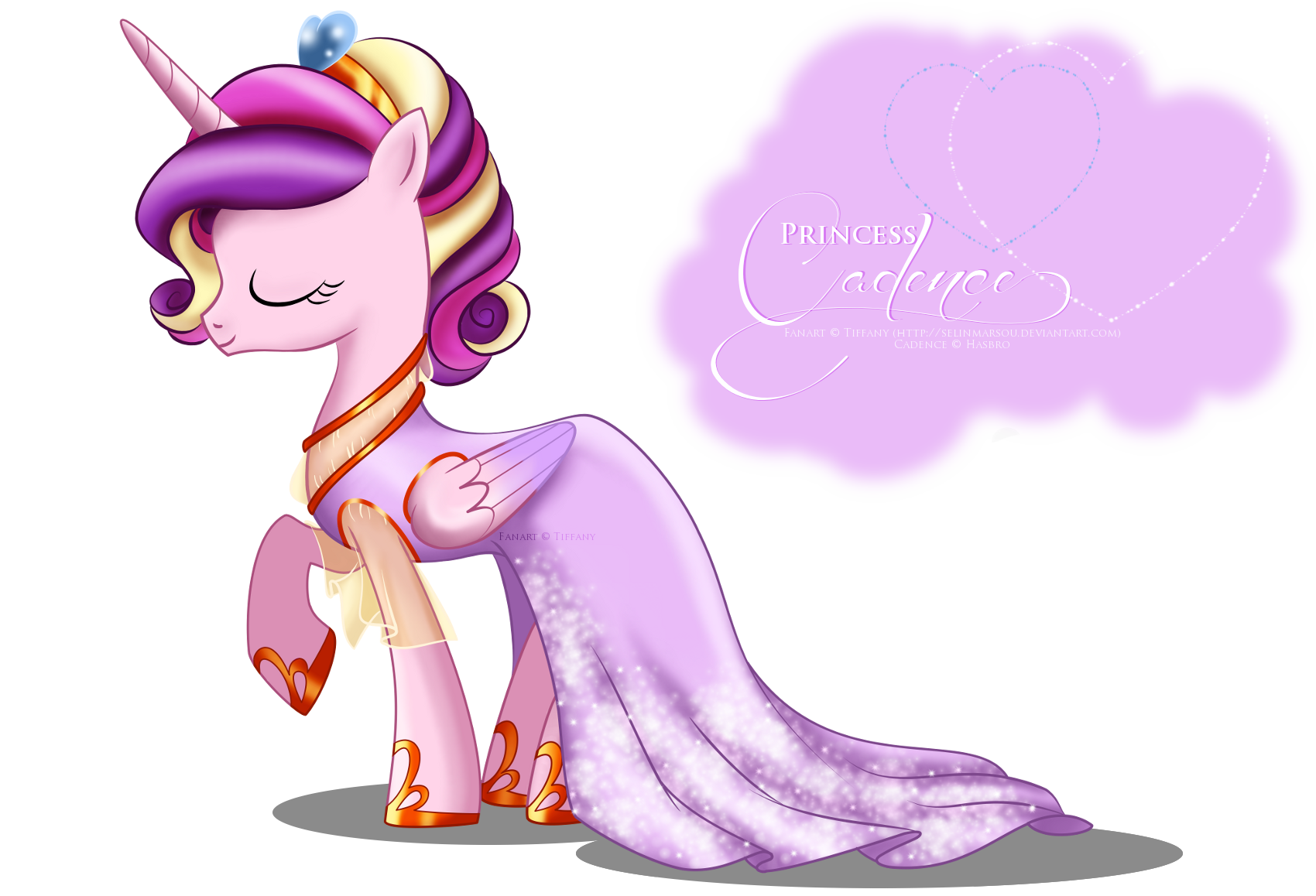 Image Princess Cadence Gala Fashion Dress By Artist selinmarsoupng
