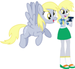 Derpy and derpy by hampshireukbrony-d6rmv4g