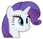 Rarity head cutout