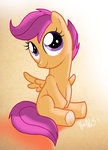 FiM Scootaloo by WarePWn3
