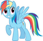 Alicorn Rainbow Dash