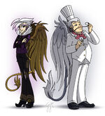 Gilda and Gustave by GlancoJusticar