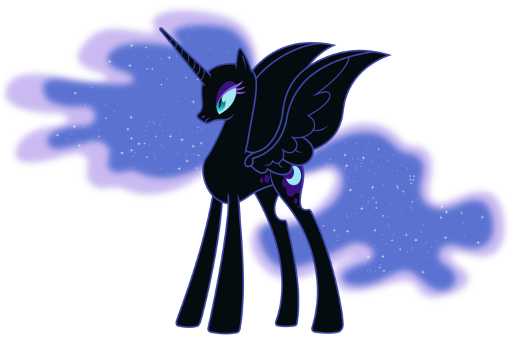 Nightmare Moon Coloring Pages Free Here