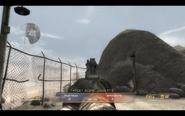 Beretta M9 Aiming down the sight