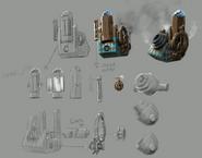 DaVinci Firebase Concept Art