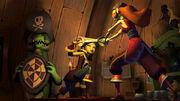 Monkey-Island-tales girl fight