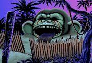 Giant monkey head SMI