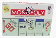 Monopoly gaame box cover