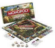 Monopoly Dinosaur 2010