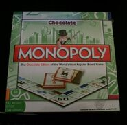 Monopoly Chocolate Edition 2009 box