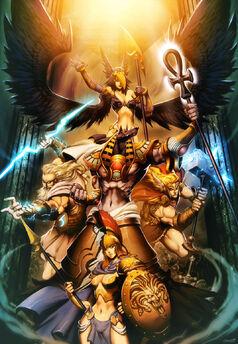 Gods Myth by GENZOMAN