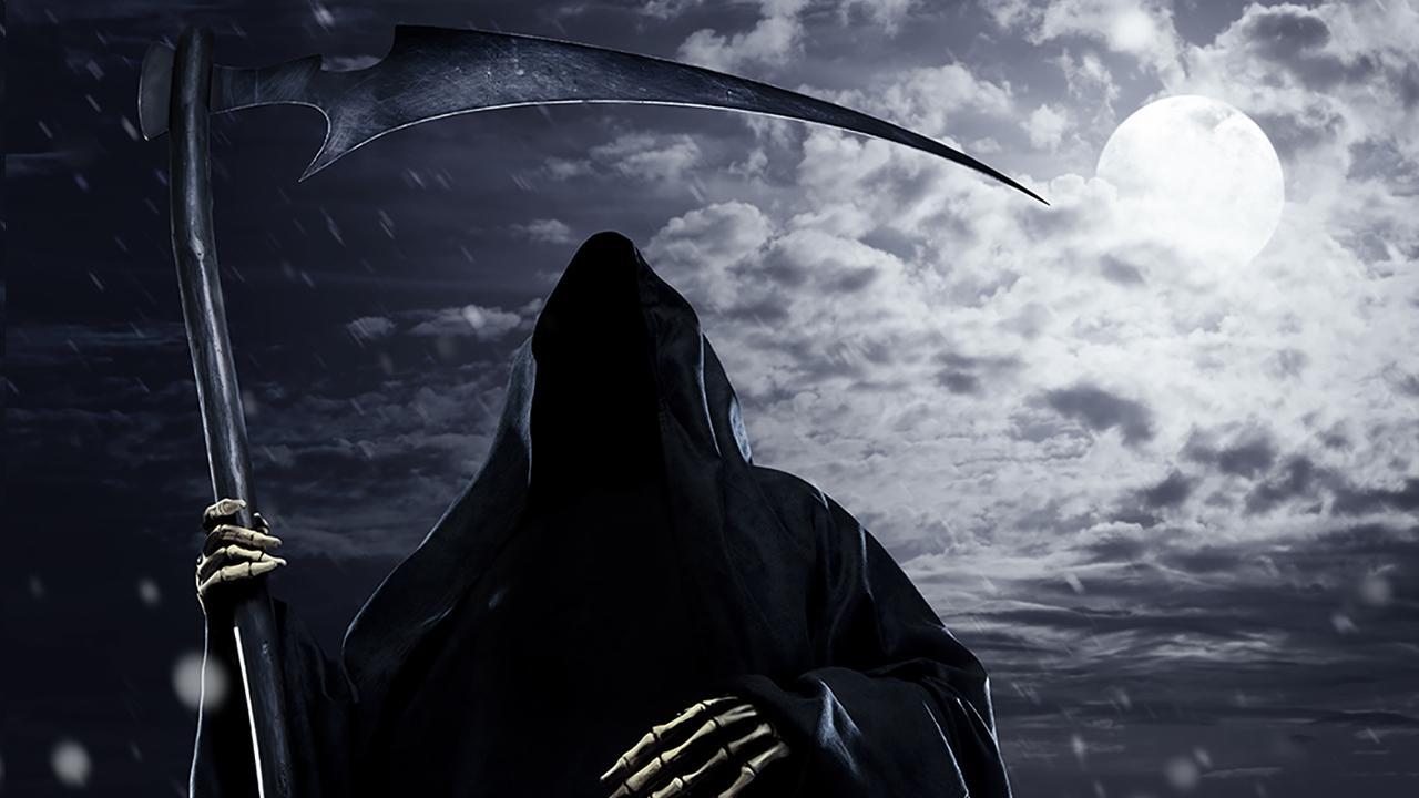 Grim reaper clipart free - ClipartFest