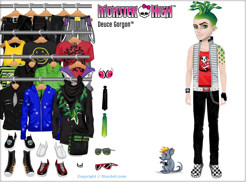 Image stardoll basic monster high wiki fandom powered by wikia - Monster high deuce ...