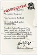 Facebook - new students memorandum