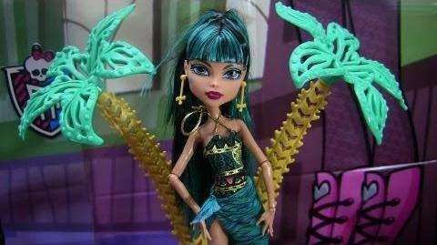 Monster High 13 Wishes Desert Frights Oasis Playset & Cleo De Nile Review Video !!! D!!