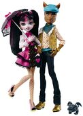 Doll stockphotography - School's Out Draculaura and Clawd I