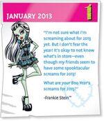 2013 screams - Frankie Stein