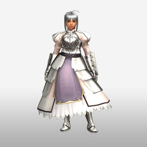 FrontierGen-Knight-King Armor 002 (Female) (Both) (Front) Render