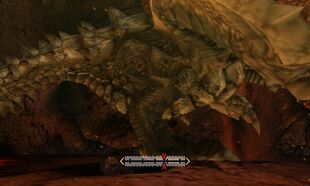 MH4U-Gravios Right Leg Break 001