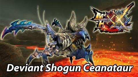 MHXX G1 First encounter with Armor Shredder Shogun Ceanataur
