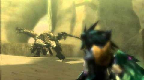3DS モンスターハンター 4G Monster Hunter 4G - ディアブロス Diablos Intro