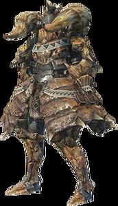 MHO-Diablos Armor (Blademaster) (Female) Render 001
