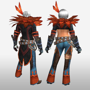 FrontierGen-Hypnoruta Armor (Both) (Back) Render