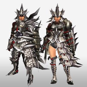 FrontierGen-Sol G Armor (Gunner) (Front) Render