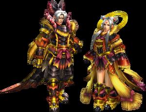 FrontierGen-Masako Armor (Blademaster) Render 2