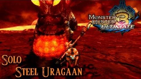 Monster Hunter 3 Ultimate - Steel Uragaan