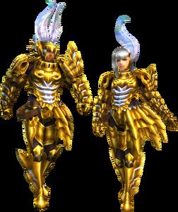 FrontierGen-Garuba Armor (Gunner) Render 2