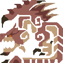 File:MH10th-Pink Rathian Icon.png
