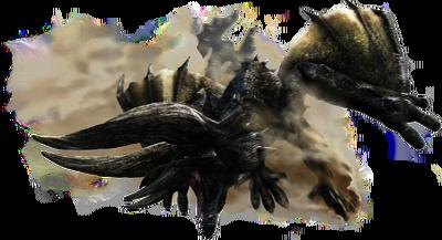 MH4U-Black Diablos Render 001.png