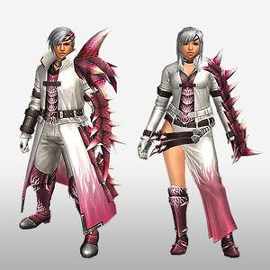 FrontierGen-Vuaisu Armor (Gunner) (Front) Render