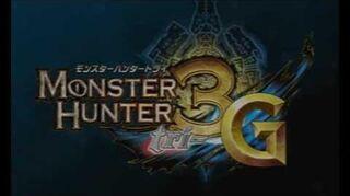 N3DS『モンスターハンター3(トライ)G』 プロモーション映像②