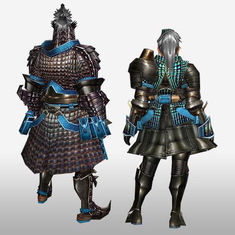 File:FrontierGen-Velociprey G Armor (Blademaster) (Back) Render.jpg