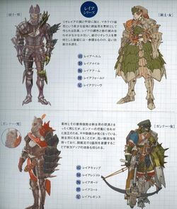 Monster hunter freedom 2 conceptart mpU6i