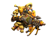 MH3U-Light Bowgun Equipment Render 001