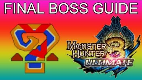 Monster Hunter 3 Ultimate - FINAL BOSS Gran Miraos Guran Miraosu guide グラン・ミラオス-1