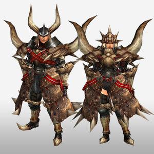FrontierGen-Diaburo G Armor (Blademaster) (Front) Render